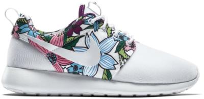 Nike Roshe Run White Floral Aloha (W) 599432-113