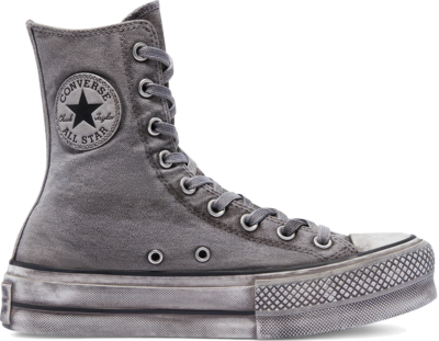 Converse Smoked Canvas Extra High Platform Chuck Taylor All Star White Smoke In 170593C