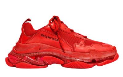 Balenciaga Triple S Red Clear Sole 541624W09O16500