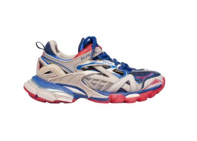 Balenciaga Track.2 Beige Blue Red (W) 568615 W2GN2 8570