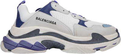 Balenciaga Triple S White Purple (W) 541641 W09OF 9095