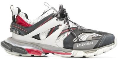 Balenciaga Track White Grey Red 542023 W1GB 8108/542023 W1GB8 1285
