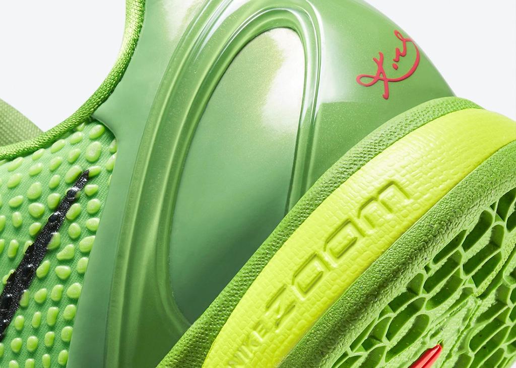 It's back: de Nike Kobe 6 Protro Grinch komt opnieuw uit op 24 december