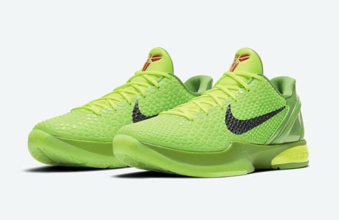 protro Nike Kobe grinch