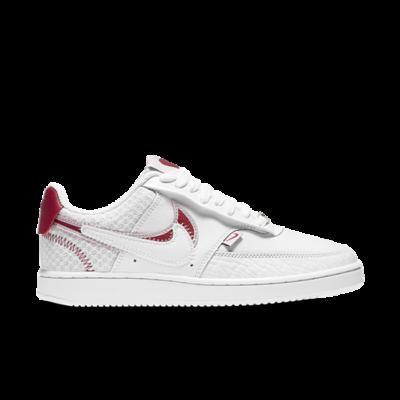 Nike Court Vision Low Premium Valentine's Day Wit CI7827-100