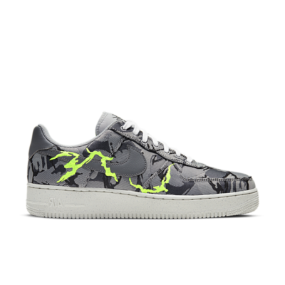 Nike Air Force 1 07 LX Light Smoke Grey Camo Embroidery CV1725-001