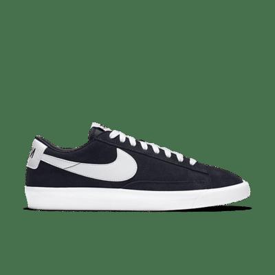 Nike Blazer Low Prm Vntg Suede Black 538402-004