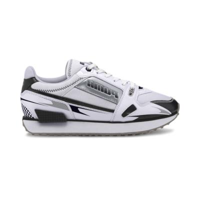 Puma Mile Rider Sunny Getaway sportschoenen voor Dames Wit / Zwart 373443_05