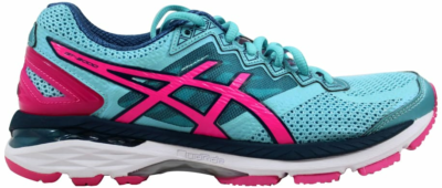 ASICS GT 2000 4 Turquoise/Hot Pink-Autumn Glory (W) T656N-4034