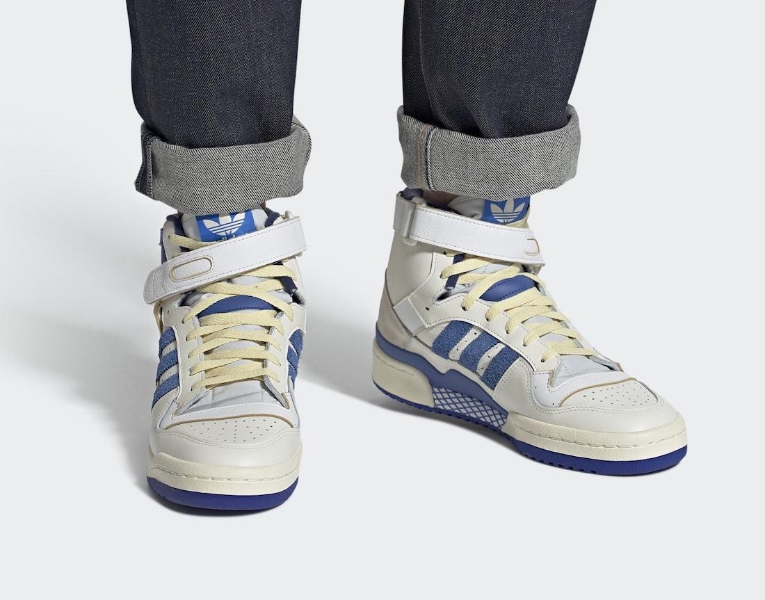 Back to the 80's met de adidas Forum 84 High OG Bright Blue