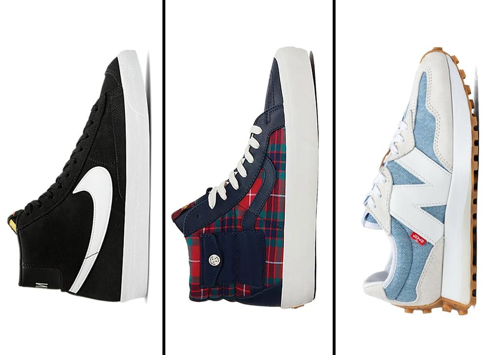 Drie van die voor de dames: sneakers voor onder een jurkje