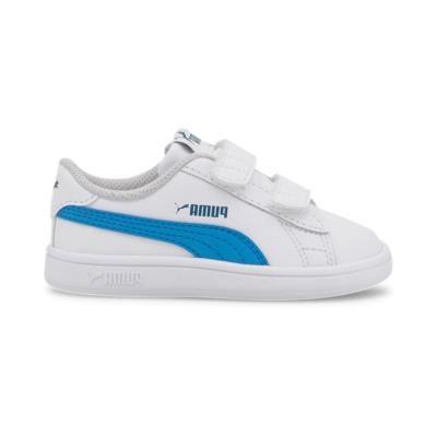Puma Smash v2 Kids' sportschoenen Wit / Blauw 365174_21