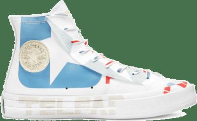 Converse Chuck Taylor All-Star 70s Hi Telfar White Blue 169068C