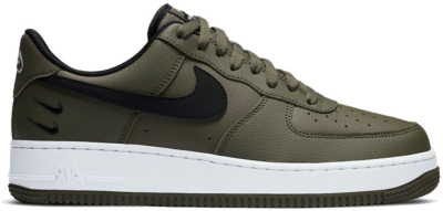 Nike Air Force 1 Low 07 Olive Black Double Swoosh CT2300-300