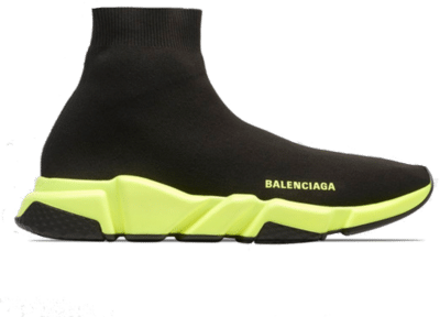 Balenciaga Speed Trainer Black Yellow 567042W05G01000