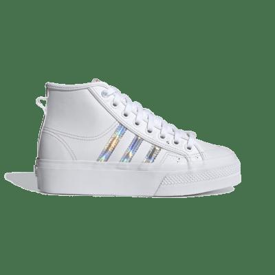 adidas Nizza Platform Mid Cloud White H01566