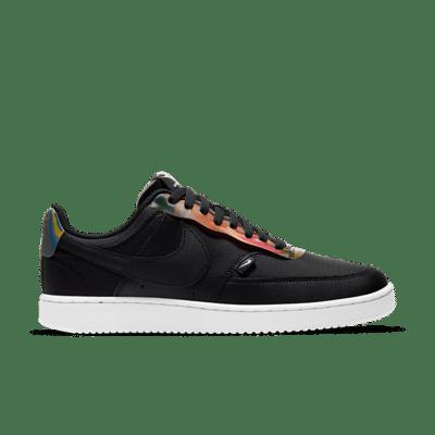 Nike Court Vision Low Premium Zwart CD5464-003