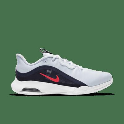 NikeCourt Air Max Volley Hardcourt Grijs CU4275-003