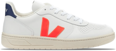 "Veja V-10 Leather ""Orange Fluo"" VX022136B"