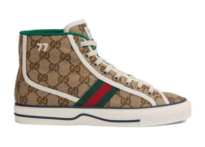 Gucci Tennis 1977 High Top GG (W) 627838 HVK70 9765