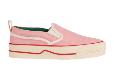 Gucci Tennis 1977 Slip-On Pink (W) _624733 GZO60 5875