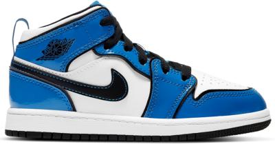 Jordan 1 Mid Signal Blue (PS) BQ6932-402