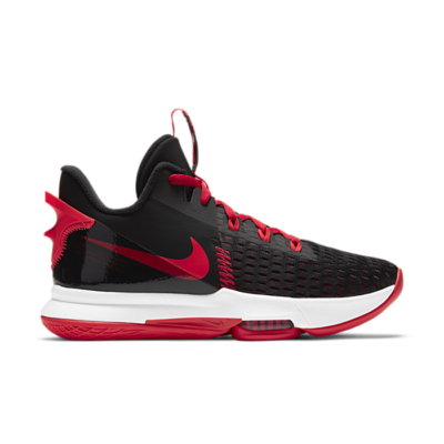 "Nike Lebron Witness 5 ""Bright Crimson"" CQ9380-005"