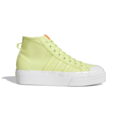 adidas Nizza Platform Mid Semi Frozen Yellow FY7580