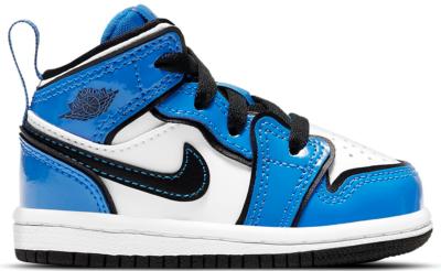 Jordan 1 Mid Signal Blue (TD) BQ6933-402