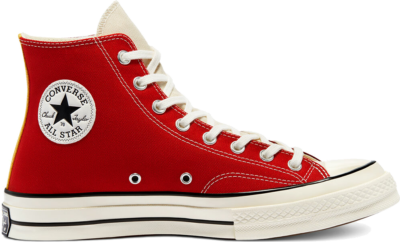 Converse Tri-Panel Chuck 70 High Top Team Red/Gym Red/Natural Ivory 171123C