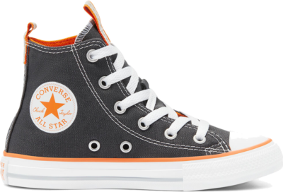 Converse Converse Color Chuck Taylor All Star High Top Storm Wind/Magma Orange/White 670401C