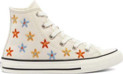 Converse Spring Flowers Chuck Taylor All Star High Top Black 671099C