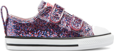 Converse Coated Glitter Easy-On Chuck Taylor All Star Low Top Bold Pink/White/Black 770178C