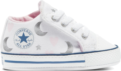 Converse My Wish Chuck Taylor Cribster Mid White/Pink/Silver 871092C