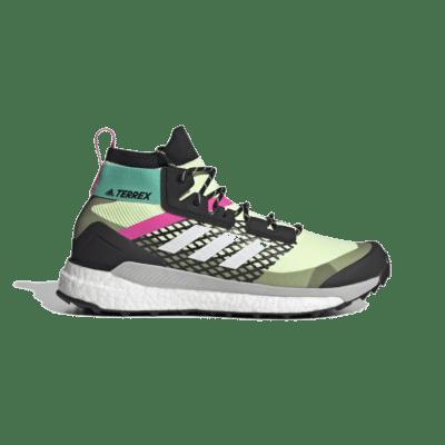adidas Terrex Free Hiker Primeblue Hiking Hi-Res Yellow FY7334