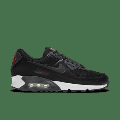 Nike Air Max 90 Black University Red DH4095-001