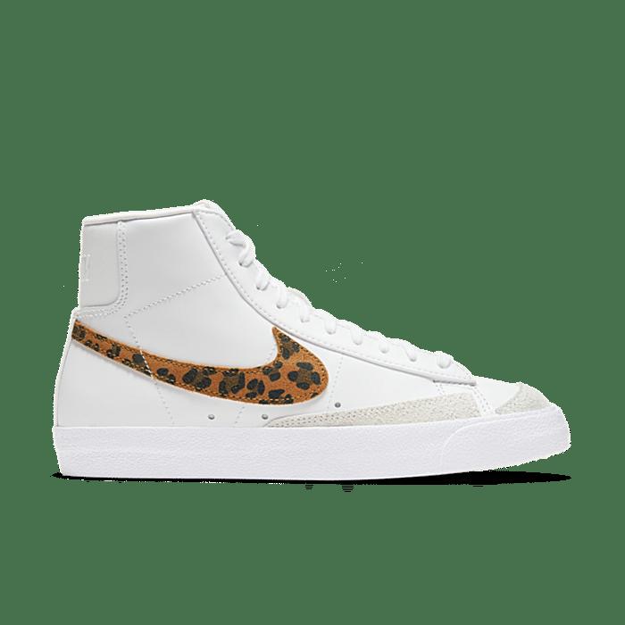 """Nike Blazer Mid 77 SE """"White Leopard"""" DA8736-101"""