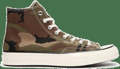 Converse Chuck 70 Hi x Carhartt Green 169221C