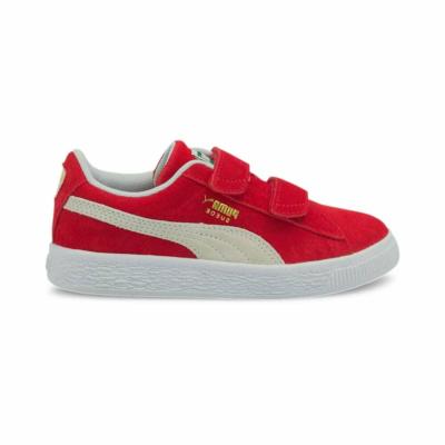 PUMA Suede Classic Xxi Kids' s, High Risk Red/White High Risk Red,White 380563_02