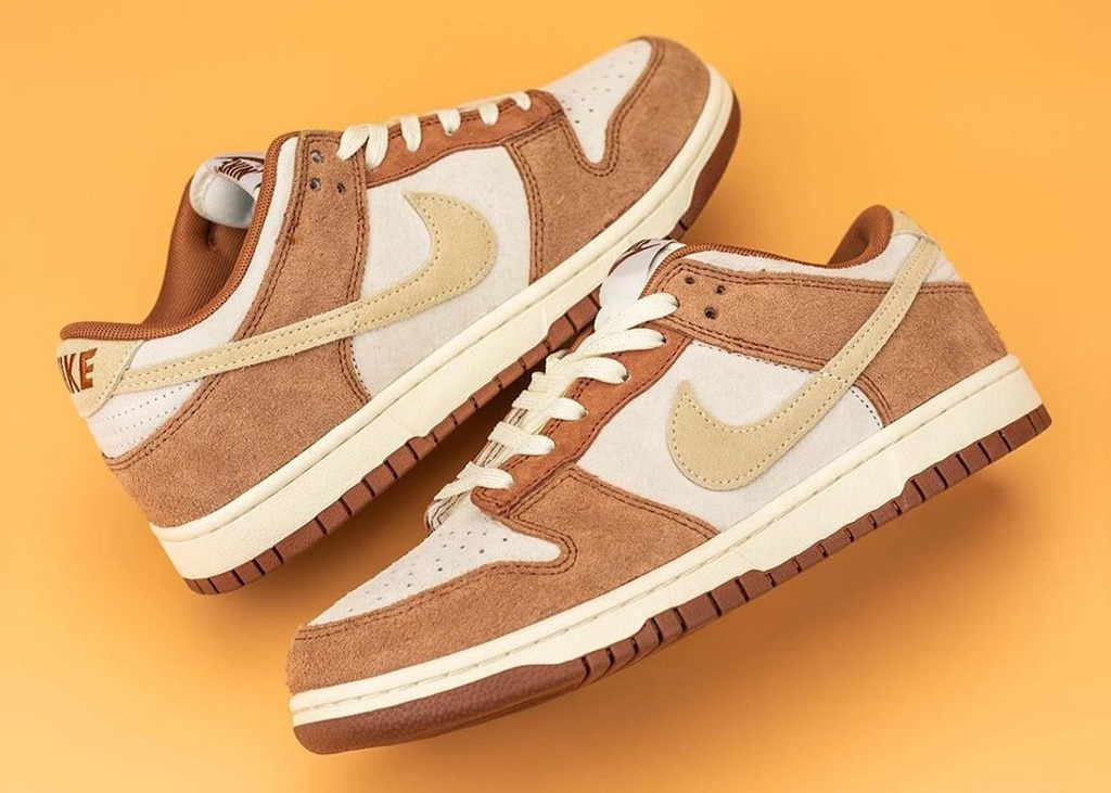 Eind januari komen de Nike Dunk Low Medium Curry uit