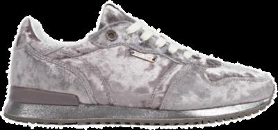 Pepe Jeans Gevel Fluweel Laag Top Dames Sneakers PLS30726-933 grijs PLS30726-933