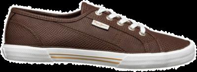 Pepe Jeans Aberlady Python Lop Top Dames Sneakers PLS30347-875 bruin PLS30347-875
