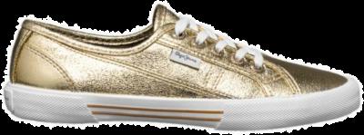 Pepe Jeans Aberlady Met Low Top Dames Sneakers PLS30587-099 goud PLS30587-099
