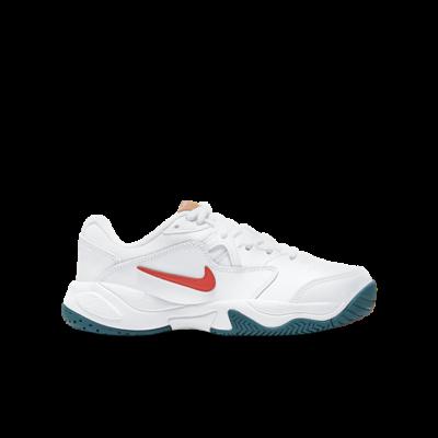 NikeCourt Jr. Lite 2 Wit CD0440-106