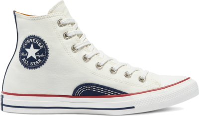 Indigo Boro Chuck Taylor All Star High Top egret/vintage white 171067C