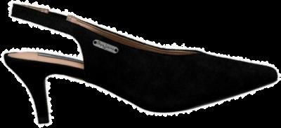 Pepe Jeans Comers Mid Heels Dames Slingbacks PLS10386-999 zwart PLS10386-999