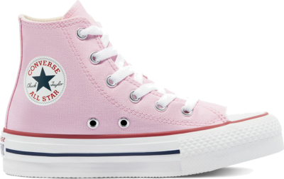 Converse Converse Color EVA Platform Chuck Taylor All Star High Top Pink Glaze/White/Pink Glaze 671106C