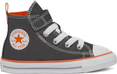 Converse Converse Color Easy-On Chuck Taylor All Star High Top Storm Wind/Magma Orange/White 770410C