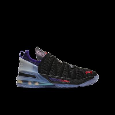 Nike Kylian Mbappu00e9 x LeBron 18 GS NRG 'The Chosen 2' Black CT4677-001