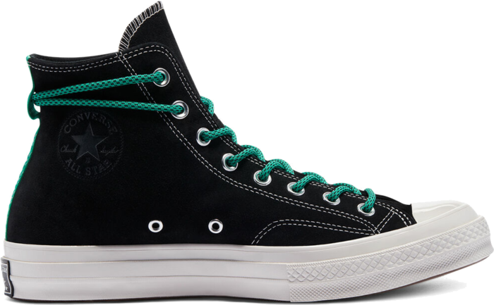 Converse Digital Terrain Chuck 70 High Top Black/Court Green/Pale Putty 170115C